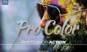 Titanium Pro Color Photoshop Action
