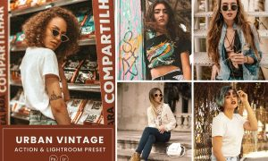 Urban Vintage Action & Lightrom Presets